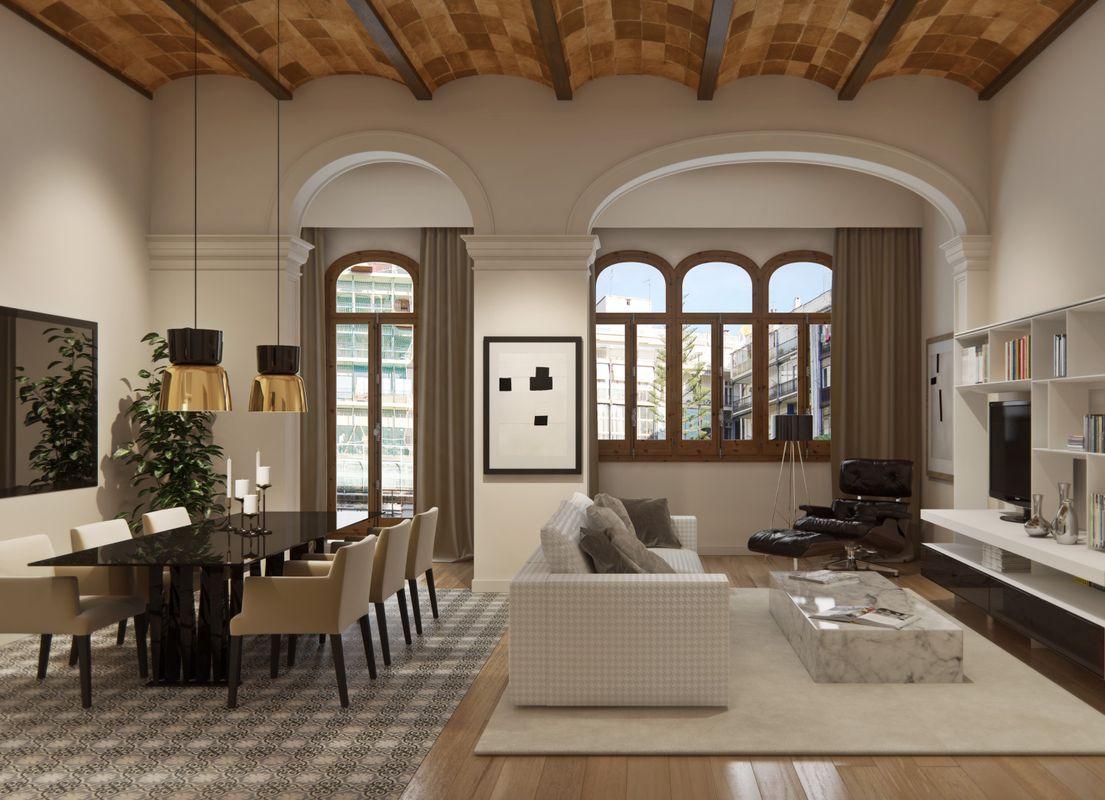 Европейцы предпочитают продавать и покупать квартиры с полной меблировкой. Фото: housage.com