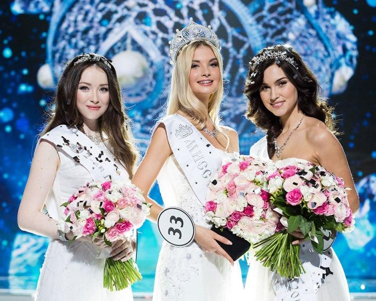Альбина Ахтямова, Полина Попова, Ксения Александрова. Фото: www.missrussia.ru